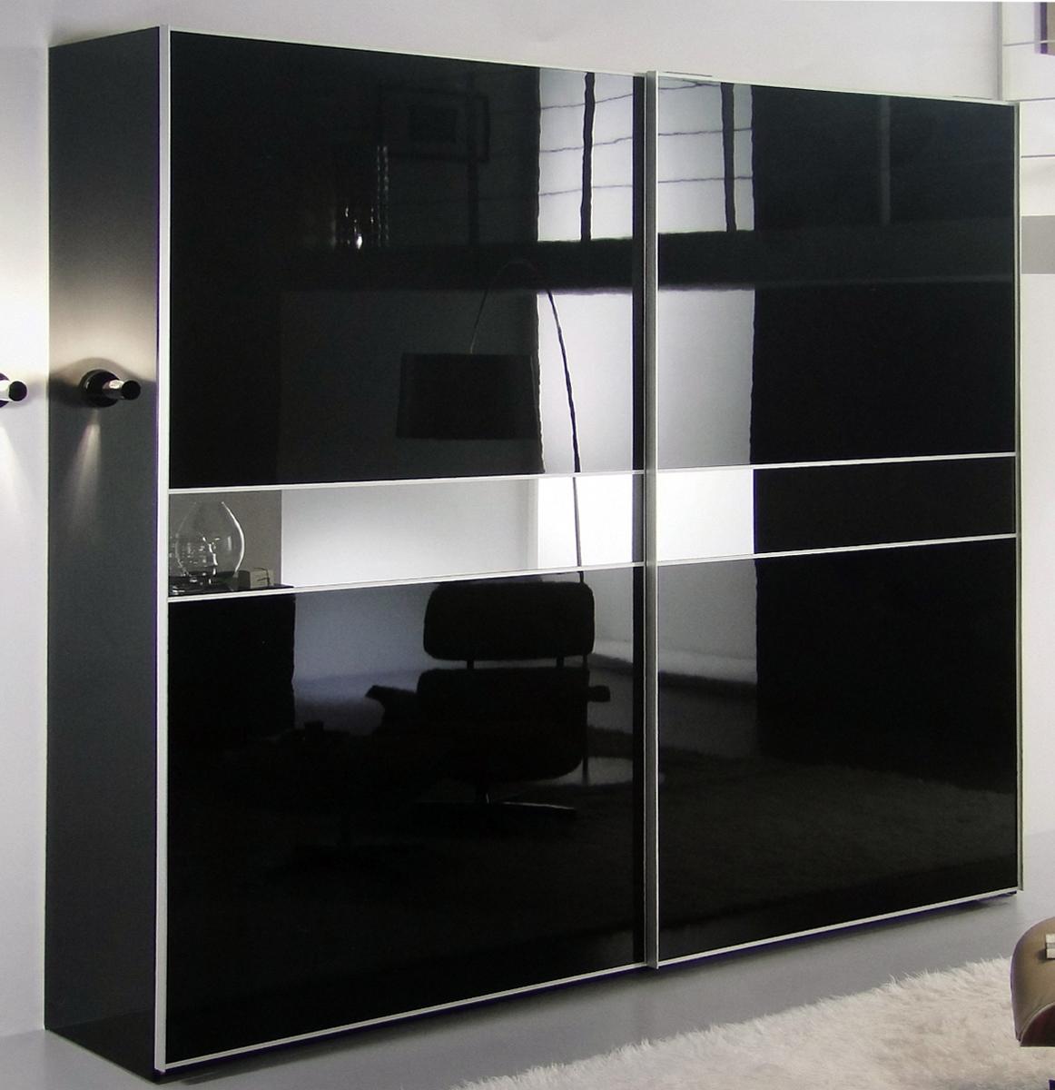 Шкафы купе черно белые фото